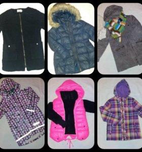 Куртки 122-128