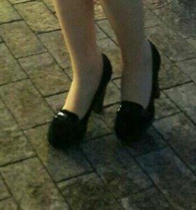 Туфли велюр
