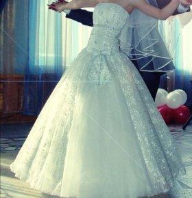 Свабебное платье 38 - 42 размер