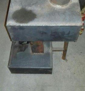 Печка на отработаном масле.