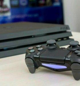 PlayStation 4 PRO(300 игр) гарантия.