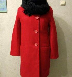 Пальто демисезон/теплая зима