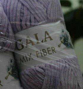 """Плюшевая пряжа """"GALA"""" mix fiber"""