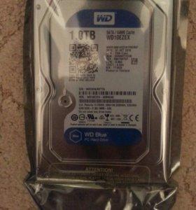 Жесткий диск WD Blue 1 Тб. WD10EZEX