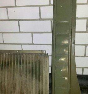 Жабра левая боковая для ГАЗ-69