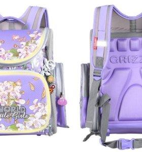 Ортопедический ранец Grizzly 1-5 класс для девочек