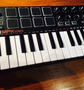 Midi клавиатура akai mpc mini 2