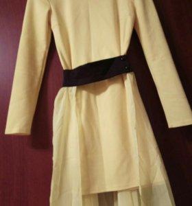 Платье -трансформер со шлейфом