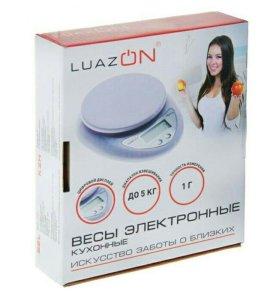 Весы электронные кухонные LuazON LVK-501, до 5 кг