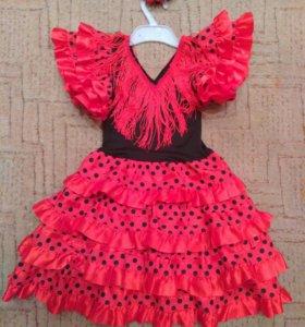 """Очень красивое платье """"Кармен"""""""