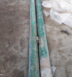 Трубы- под столбы для ворот.
