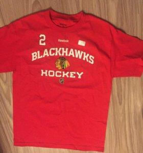 Футболка NHL Chicago Black Hawks новая.Оригинал