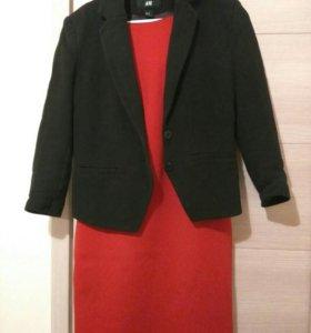 Пиджак + платье