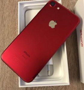 Редкая реплика iphone 7+ 128g+адаптер,чехол,стекло