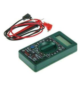 Мультиметр TUNDRA basic, цифровой DT-832