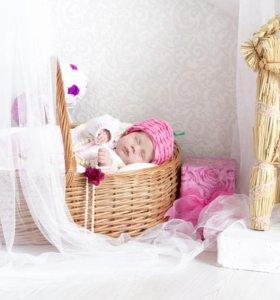 Фотосъёмка новорождённых