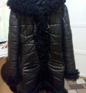 Куртка нат.кожа и мех.