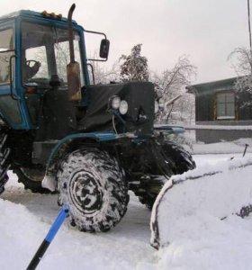Услуги трактора. Чистка снега.