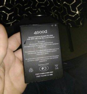 Батарея от телефона 4good