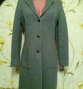 Пальто вязаное, размер 40-42