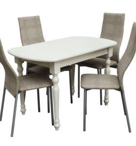 Комплект : 4 стула и стол!