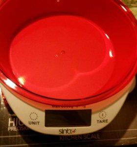 Новые весы кухонные