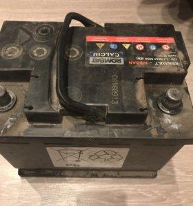 Аккумулятор 60 Ач 600 А