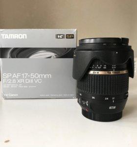 Tamron SP AF 17-50mm F2.8 XR Di II VC для Canon