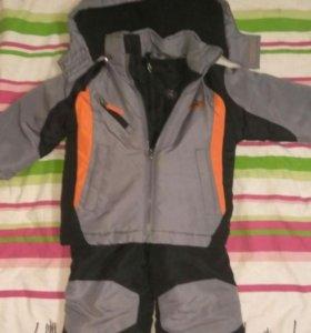 Куртка комбинезон зима 2-3г