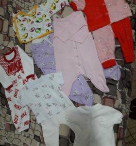Вещи для девочки 56-62