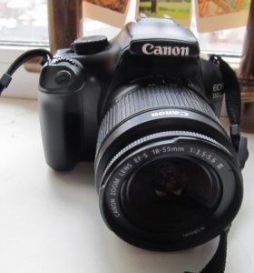 Удобная зеркалка Canon 1100 D