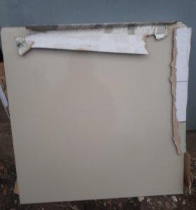Плитка 60х60 керамгранит Китай 10 мм белый