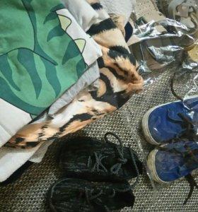 Пакет вещей и обуви до 2 лет