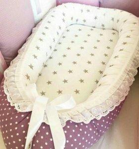 Кокон-гнездышко для новорожденных
