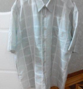 Рубашка 100% катон(состояние новое)