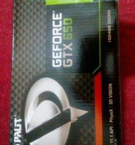 Видеокарта gtx 650 1г