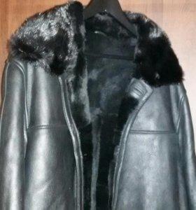Куртка(Дублёнка) с норковым воротником