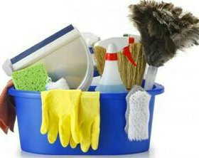 услуги по уборке жилых и нежилых помещений