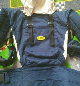 Рюкзак-кенгуру Selby, сумка переноска для ребенка