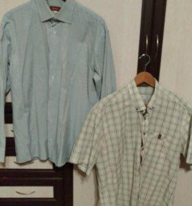 Рубашка мужская (2 штуки за 100р)