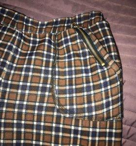 Клетчатые брюки
