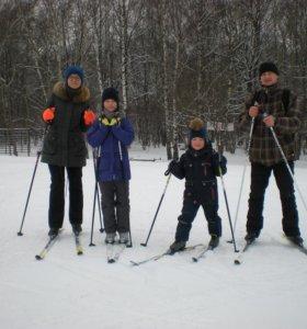 Тренер - велосипед, беговые лыжи, ходьба
