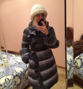 Пуховое пальто ERMANNO SCERVINO оригинал