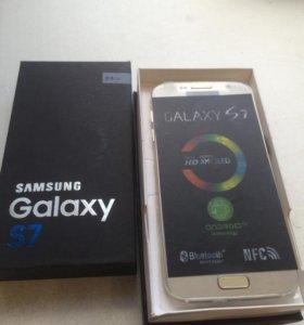 Samsung Galaxy s7 золото новый