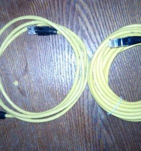 Провода для инета и телефонов разной длины