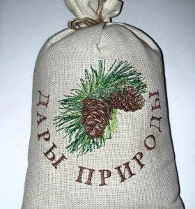 Кедровый орех в подарочным мешочке