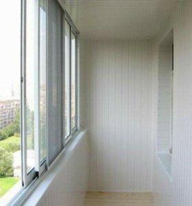 Установка окон и балконов под ключ