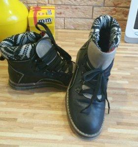 Ботинки осень 38 размер