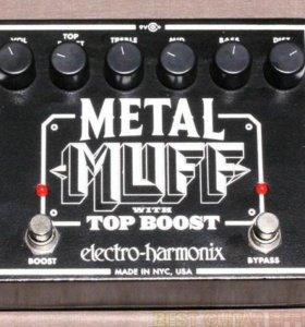Педаль эффектов Metal muff