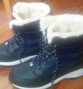Ботинки новые зимние р. 39-40